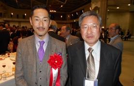 村田学長と伊藤氏
