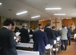 校友会開会礼拝